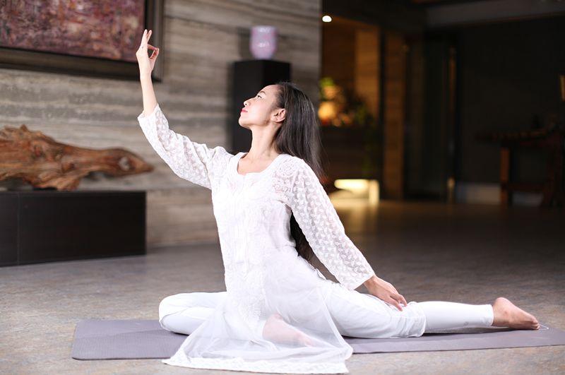 国际太极瑜伽总冠军:12堂精致女人的气血驻颜操,让你减龄减压绽放光彩-第16张图片-爱课啦