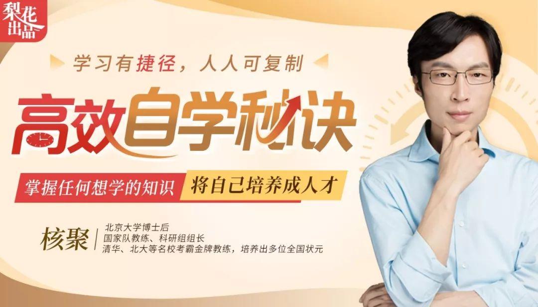 清华北大学霸金牌教练:高效自学秘诀:掌握任何想学的知识,将自己培养成人才